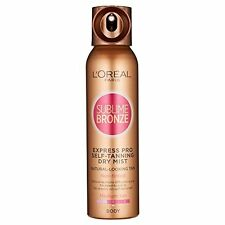 L'Oreal Sublime Bronze Self Tan Express Mist Spray Body 150ml
