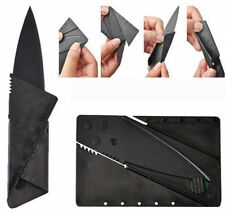 10 x Cardsharp Credit Card Folding Razor Sharp Wallet Knife Survival Tool Thin