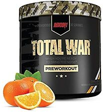 REDCON1 Total War 30 Serves Orange Crush Pre Workout Max Energy PUMPS Redcon 1
