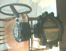 """Apollo Butterfly 10"""" Valve And Hand Wheel Part #LD14110BE1 epdm seat alum bronze"""
