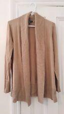 inc international concepts Women sweater Cardigan Size Medium Brown