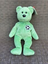 Ty Beanie Babies Kicks the Bear Beanbag Plush Stuffed Animal Toy