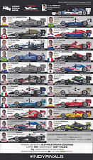 2016 GRAND PRIX OF ALABAMA VERIZON INDY CAR SERIES LINE UP FOLDOUT