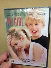 My Girl-Macaulay Culkin Anna Chlumsky(R2 DVD)New+Sealed Jamie Lee Curtis Aykroyd