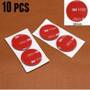 3M VHB 5952 38mm Diameter Double Sided Circle Acrylic Foam Tape Pad 1.1mm Thick