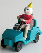 LOOSE Jack in the Box 1990s Vehicles GREEN GOLF CART Golfer Golfing CAKE TOPPER