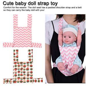 Kids Sling Baby Doll Carrier Sling For Home Toddler Children Front Back Carrier