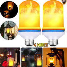 E27 Flicker Flame Fire Effect E27 LED Simulated Light Bulb Warm White Decor Lamp