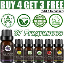 Aromatherapy Essential Oils 100% Natural & Pure Organic Fragrances Therapeutic