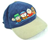 Vintage South Park Characters 1998 Comedy Central Strapback Hat Embroidered