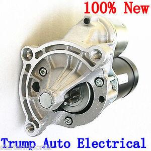 Starter Motor Peugeot 205 engine XU51C XU8T XU9J1 1.6L 1.8L 1.9L Petrol 83-98