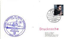 1966 & 1980 GERMAN LIFEBOAT HAMBURG 2 x SHIPS CACHED COVERS
