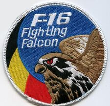 F-16 FIGHTING FALCON SWIRL PATCH COLLECTIONS: BELGIAN AIR FORCE BAF F-16 SSI