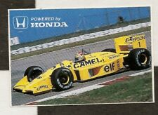 CAMEL LOTUS HONDA F1 100T 1988 NELSON PIQUET ORIGINAL PERIOD STICKER AUTOCOLLANT