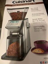 Cuisinart CBM-20 Premium Conical Burr Grinder (Silver) New