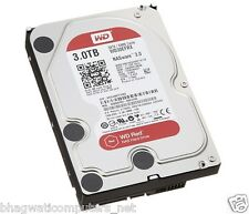 "WD 3TB Red Sata Nas Hard Disk Drive 3.5"" 6 Gb/s 64MB Cache 3 TB Western Digital"