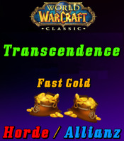 WoW Classic Gold - Transcendence - Horde&Allianz 500 - 2000 *Express Versand