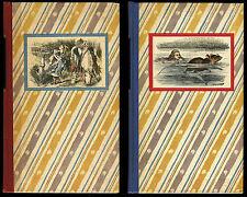 Alice in Wonderland, Lewis Carroll, 2 Volumes, SE (1946, Random House) NICE!!