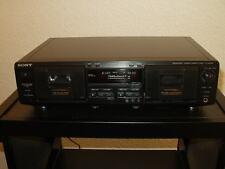 Sony TC-WE435 Doppel-Kassettendeck, Pitch, Fader + Zubehör, 12 Monate Garantie*