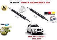 FOR BMW X1 E84 2009-2015 REAR LEFT + RIGHT SHOCK SHOCKER ABSORBER SET