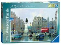 Ravensburger Rainy Day in London 500 Piece Jigsaw Puzzle England