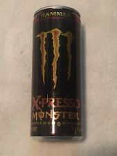 Very Rare Full Monster Espresso Energy Hammer X-presso Expired 2009 6.75 oz