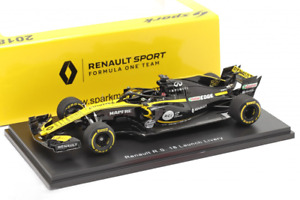 Spark 1:43 - Renault R.S.18 F1 Launch Livery #27 Niko Hulkenberg 2018