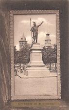 BORDEAUX souvenir de statue de vercingétorix
