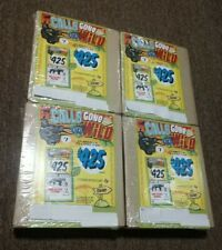 4 boxes Calls Gone Wild Pull Tab Casino Bingo party Tickets Profit 160 total 640