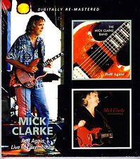MICK CLARKE roll again/live in luxembourg Slipcased 2CD NEU / NEW OVP/Sealed