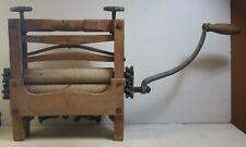 """Antique AWC """"Royal"""" Wash Wringer - Wood & Iron"""