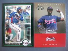 (2) JASON HEYWARD ROOKIE LOT 2007 TRISTAR PROSPECTS PLUS #11/2010 BOWMAN #200