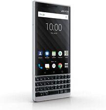 NEW USA Version - BlackBerry Key2 BBF100-2 - 64GB - Silver (Unlocked)