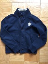 ABERCROMBIE AND FITCH NAVY BLUE JACKET VEST SIZE MEDIUM