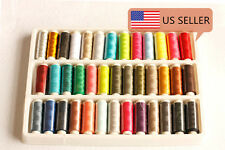 US Seller 39 Spools Sewing Thread Set Polyester 39 Colors 200 Yards per Spool