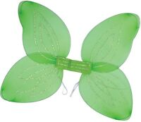 Ladies White Green Black Pink Angel Butterfly Fairy Fancy Dress Costume Wings