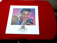 ELVIS ~ LEGENDS OF AMERICAN MUSIC COLLECTOT'S STAMP SET~NEW ~ COLLECTABLES