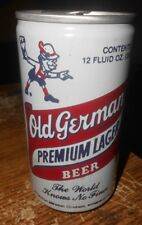 12 oz. empty old german premium aluminum stay tab beer can good used #3