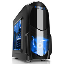 Mega Fast AMD Quad Core 4.2 PC Home Office Desktop Computer 8GB 1TB USB3 Nero B