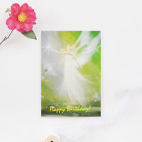 """Grusskarte """"Happy Birthday!"""" Postkarte, Künstlerkarte, Glückwünsche"""