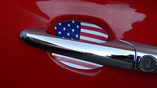 USA FLAG AUTO ACCESSORY CAR DOOR HANDLE PAINT SCRATCH COVER GUARD FIT ALL 2 PK