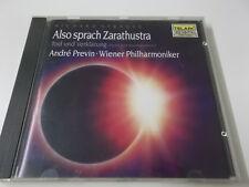 40438 - STRAUSS - ALSO SPRACH ZARATHUSTRA (PREVIN) - 1988 TELARC CD ALBUM