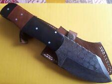 Damascus Steel Mini chopper/ clever chopper  knife 18