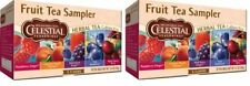 Celestial Seasonings Fruit Tea Sampler Tea 2 Box Pack