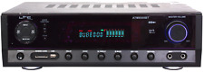 Hi-Fi Stereo Amplifier ltc ATM6500BT with Bluetooth and Karaoke, Remote Control