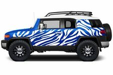 Custom Vinyl Graphics Decal SAFARI Wrap Kit Toyota FJ Cruiser Parts 07-14 WHITE