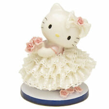 Hello Kitty Pottery Ceramic Lace Doll Stuffed JapanLimited SANRIO Plush Figures