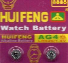 2 Piles de montre AG4 1,55v -SR626SW-SR626-377-377A LR66