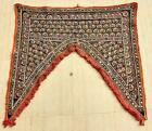 Ethnic Embroidery Mirror Rabari Tribal Tapestry Decor Door Valance Indian Toran