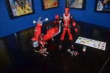 MARVEL LEGENDS Ultimate Riders DEADPOOL with SCOOTER & Dogpool Squirrelpool